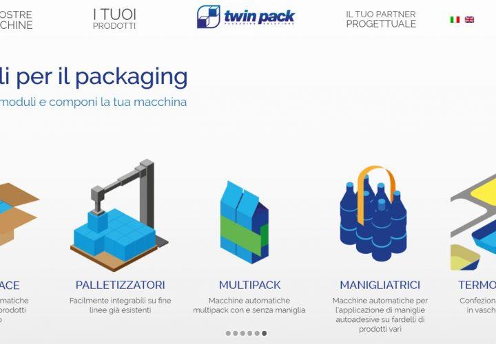 Sito web – Twinpack