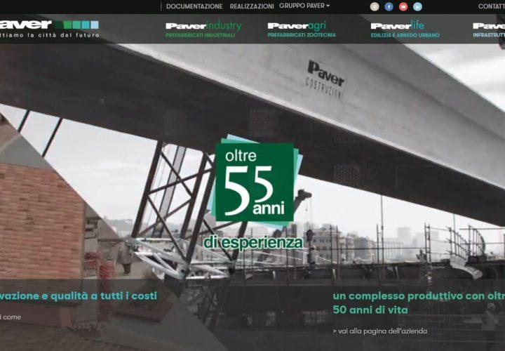 Sito web – Paver