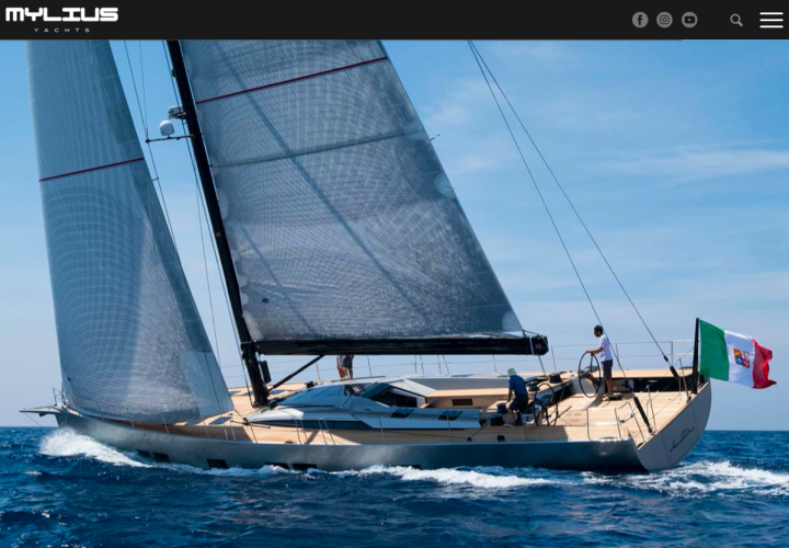 Sito web – Mylius Yachts