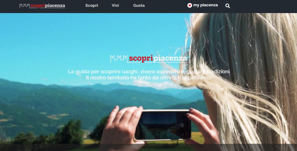 Portale web Scopri Piacenza